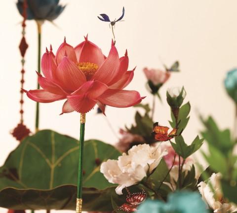 현대에 재현된 전통문화의 꽃