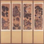 도 3 장생도, 19세기, 10폭 병풍, 지본채색, 삼성미술관 Leeum