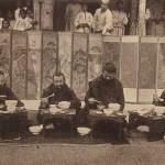 도 4 황해도의 안진사(安進士) 댁을 방문한 베버 신부 일행
