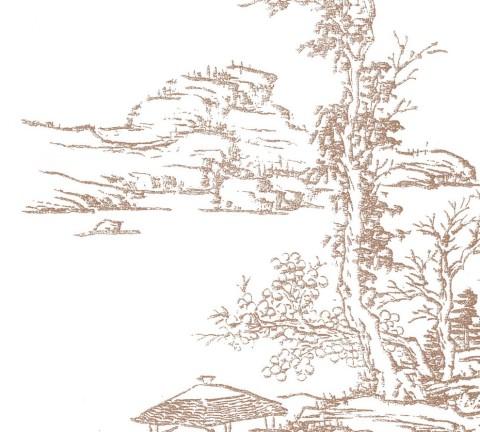 나뭇잎을 그리는 점법 산과 바위를 그리는 준법