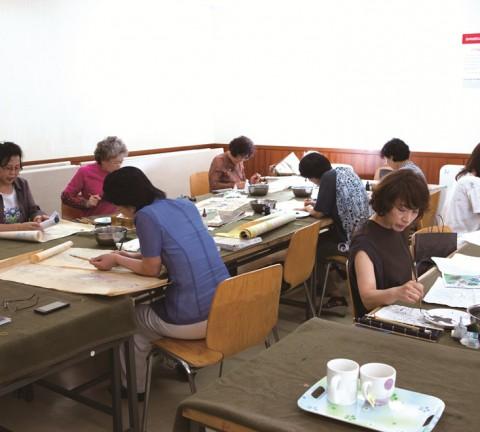 백화점 문화센터 민화과정