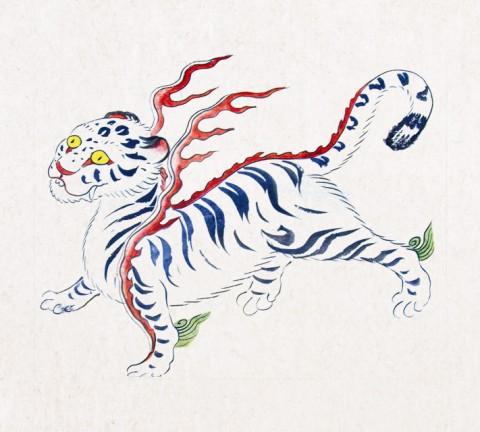 도 3. 《선조목릉 천봉도감의궤》(1630) 백호