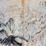 (도 10) 김응환, <금강전도>, 1772년, 지본담채, 35.2×22.3㎝, 개인 소장