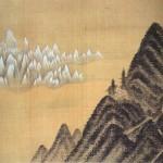 (도 2) 정선, <단발령망금강도> 풍악도첩 중, 1711년, 견본담채, 각 6.0×37.4㎝, 국립중앙박물관