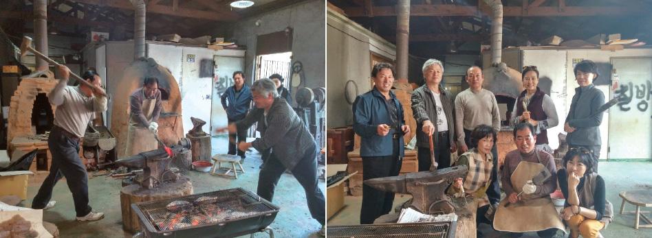 동국민화연구회 제1차 전통예술공방체험