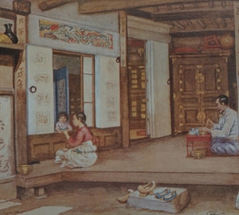 (도 1) 엘리자베스 키이스, 한국의 가옥