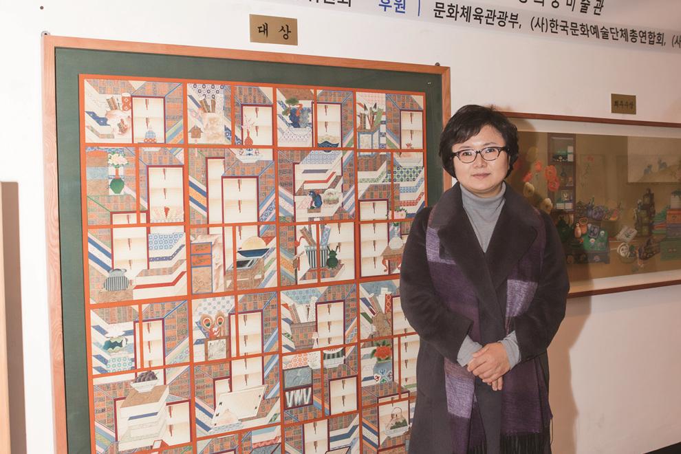 (사)한국민화협회,  제7회 전국민화공모전 시상 및 전시