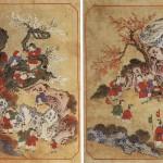 도 3. <백동자도> 8폭 병풍 中, 19세기 말, 지본채색, 각 34.5×53.2㎝, 삼성미술관 Leeum