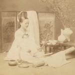 도 4. <다담이질 하는 여인>, 20세기 초 촬영