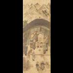 도 8. <호렵도>8폭 병풍 부분, 20세기 전반, 지본채색, 각 폭 100×36.5㎝, 국립민속박물관 소장