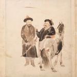 도 5. 김윤겸, 《사대가화묘》 <호병도>, 18세기, 지본담채, 57×33cm, 국립중앙박물관 소장