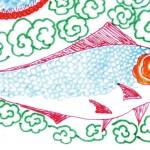 도 7-2. 물고기, 채색분석