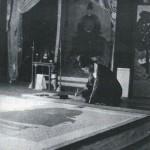 도 5. 1937년 세조어진 모사 장면