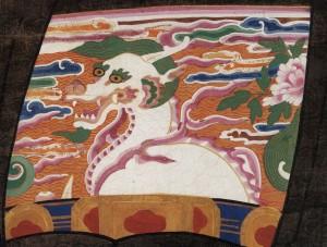 도 3. <이중로 초상> 사자 흉배, 1624년, 개인 소장