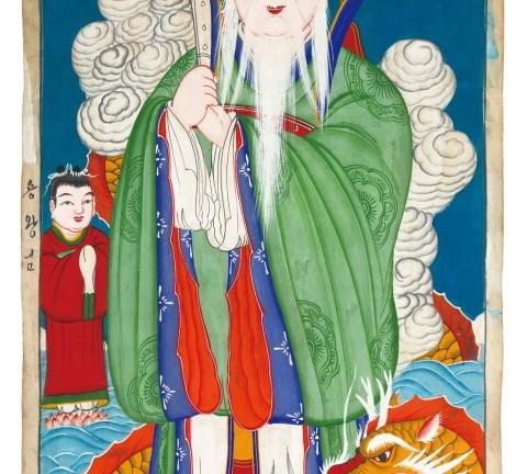 용왕도, 20세기, 52x83.2cm
