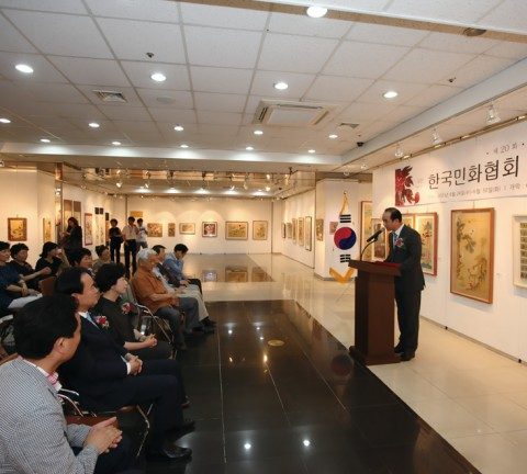 (사)한국민화협회 회원전