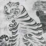 도 2. 까치호랑이, 1880년경, 종이에 채색, 90.0×60.0㎝, 개인