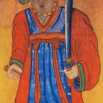 도 10. 별상도, 19세기~20세기 초, 비단에 채색, 95×56.5㎝, 건들바우박물관