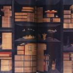 도29. 이형록(李亨祿 1808~?), 책가도 冊架圖, 8첩 병풍, 종이에 채색, 139.5×421.2cm. 삼성미술관 리움