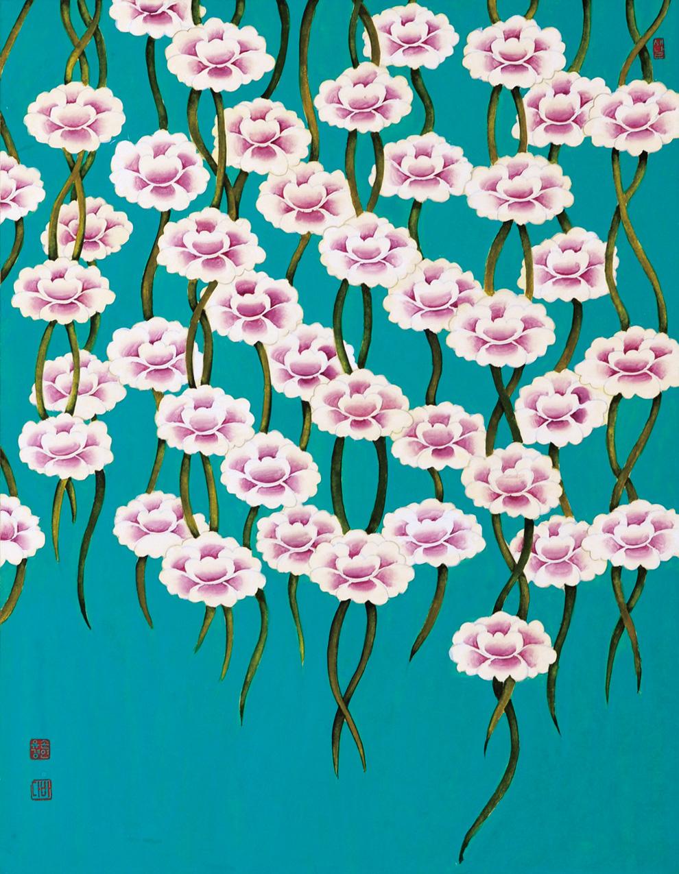 꽃비내리다
