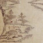 도 4. , 종이에 담채, 104.5×28cm, 가회민화박물관