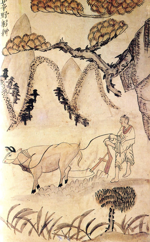 도 3. , 종이에 담채, 56.5×35.9cm, 선문대학교박물관