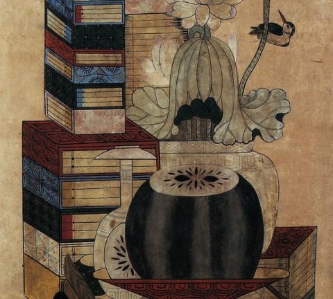 도 5. 책거리, 19세기, 삼성미술관 Leeum