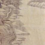 도 4. <세이영천도>, 고사산수도(4폭), 종이에 담채, 104.5×28cm, 가회민화박물관