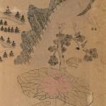 도 5. <기산도>, 중국고사도 병풍, 종이에 채색, 106.7×36.4cm, 선문대박물관