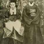 도 9. 혼례식 사진, 19세기 말~20세기 초