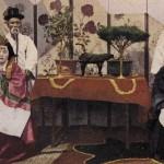 도 11. 혼례식 사진, 19세기 말~20세기 초