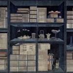 도 3. <多寶格>, 淸 20세기 초, 지본채색, 179.8×80.0x33.0㎝, 경기도박물관