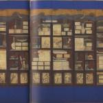 도 10. 장한종, <冊架文房圖八幅屛>, 조선 18세기 말-19세기 초, 지본채색, 195.0×361.0㎝, 경기도박물관