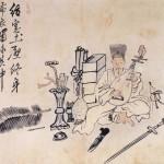 도 13. 김홍도, <布衣風流圖>, 조선 18세기, 지본담채, 27.9×37 ㎝, 삼성미술관 Leeum