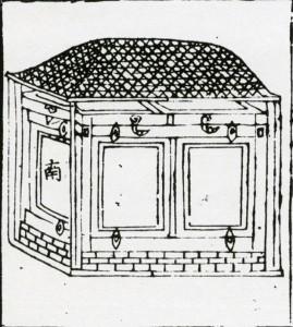 ▲도 12. 『國朝喪禮補編』(1757)의 宮圖