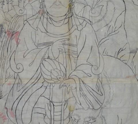 산신도 초본, 가회민화박물관 소장